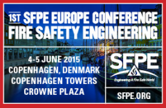 SFPE 1st Europe Conference