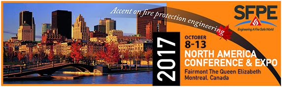 SFPE North America Conference & Expo 2017